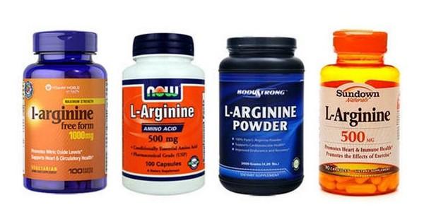 состав средства - аргинин