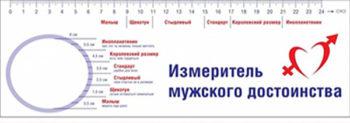 как измерить диаметр полового члена